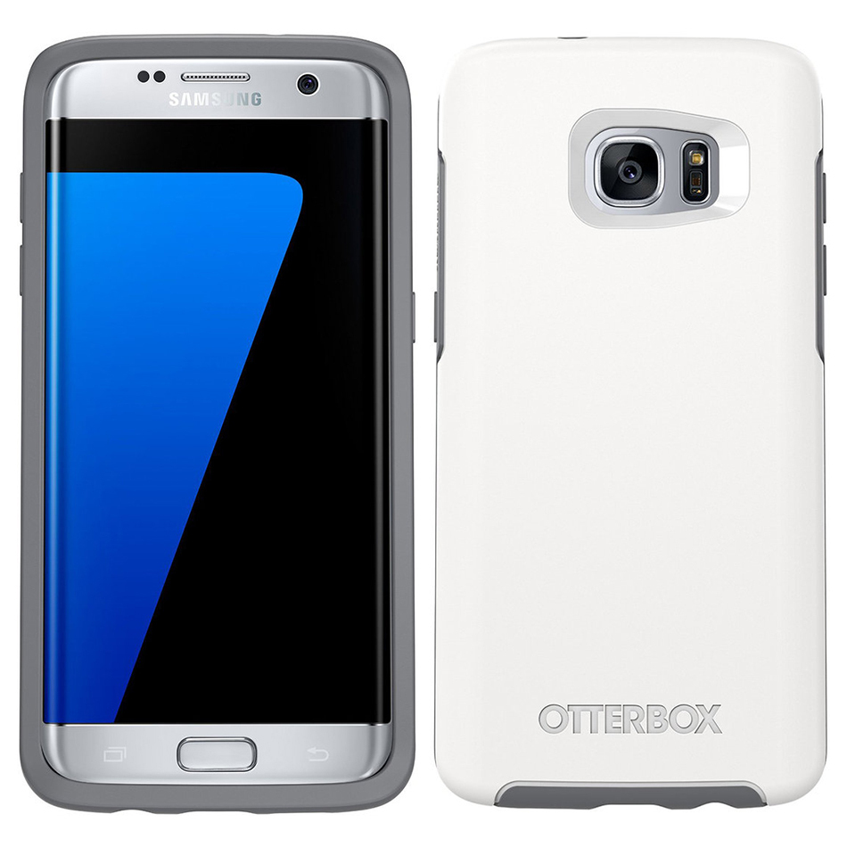 new products f6b5d cf997 Otterbox Symmetry Case for Samsung Galaxy S7 Edge (White)