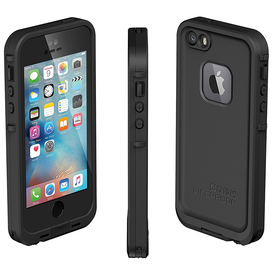 official photos 93141 82bf2 LifeProof Fre Case for Apple iPhone 5s / SE (Black)