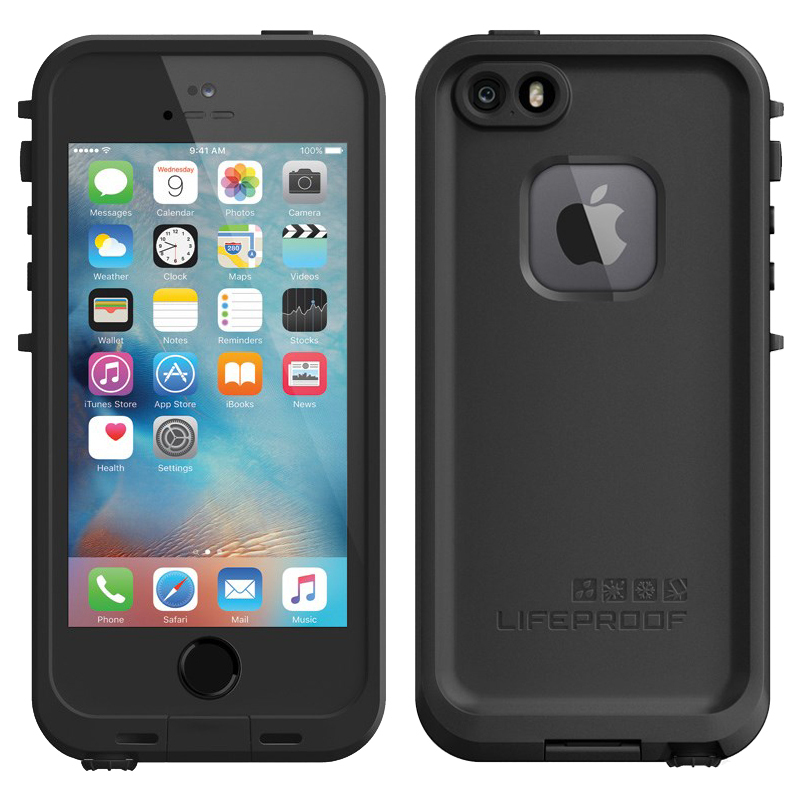 official photos f2694 3e707 LifeProof Fre Case for Apple iPhone 5s / SE (Black)