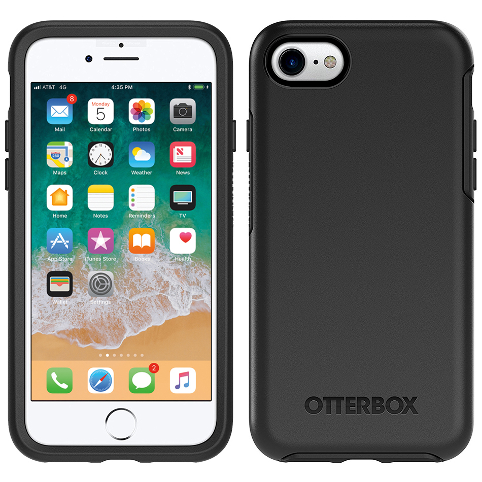 f08d5ace48c Otterbox Symmetry Series Slim Case for Apple iPhone 8 / 7 - Black ...