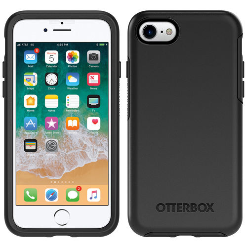 Otterbox Symmetry Series Slim Case for Apple iPhone 8 / 7 - Black