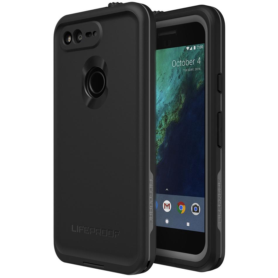 cheap for discount 49cdc 9ffa8 LifeProof Fre Waterproof Case - Google Pixel Phone (Black)