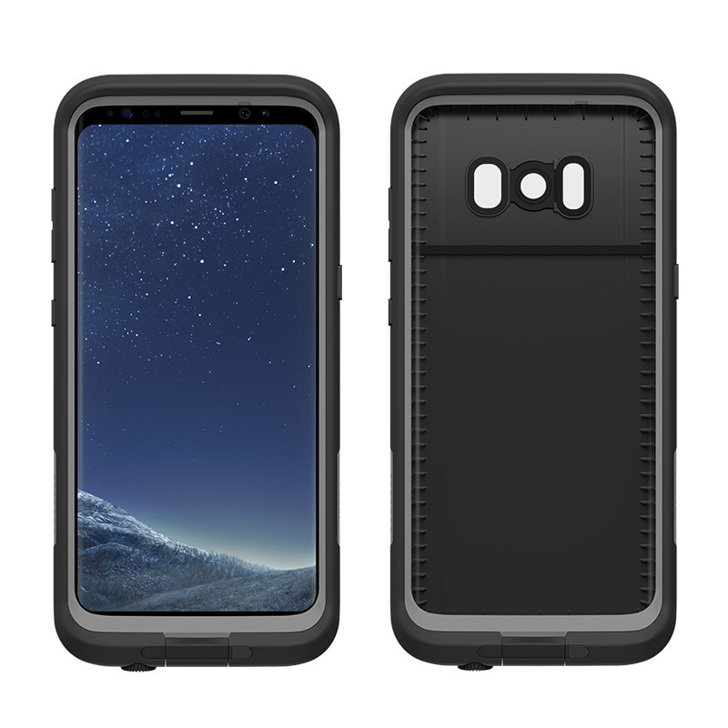 online retailer a64f4 9d0eb LifeProof Fre Case for Samsung Galaxy S8+ (Black)