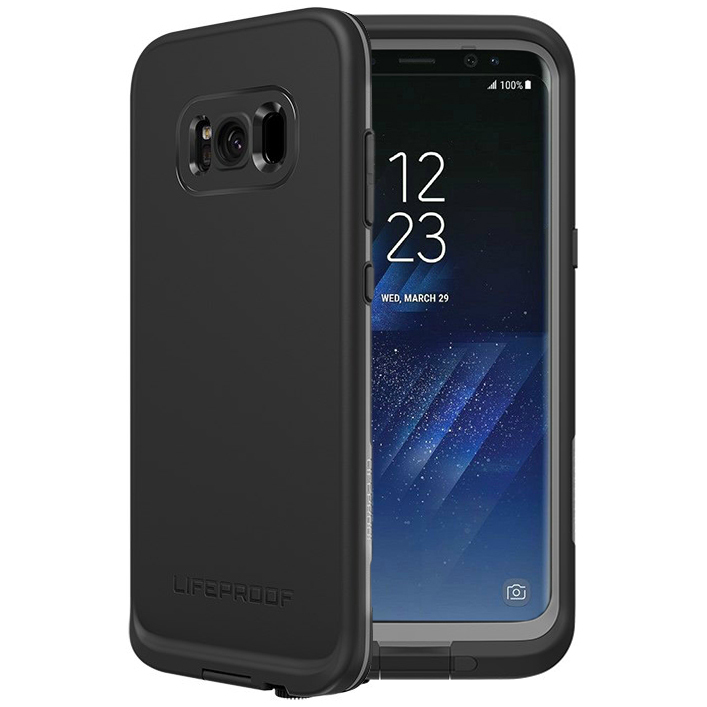 online retailer ff61c 1e867 LifeProof Fre Case for Samsung Galaxy S8+ (Black)