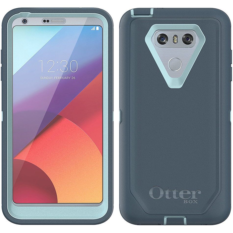 buy popular 58e6c 529ee Otterbox Defender Series Case for LG G6 (Moon River)