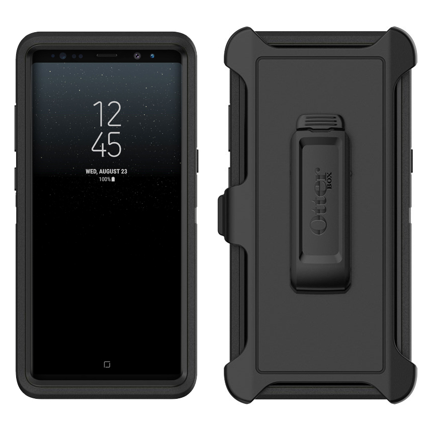 uk availability 4a7d5 14baf OtterBox Defender Case for Samsung Galaxy Note 8 (Black)