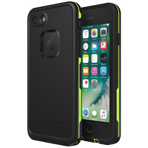 LifeProof Fre Waterproof Case for Apple iPhone 8 / 7 - Black / Lime