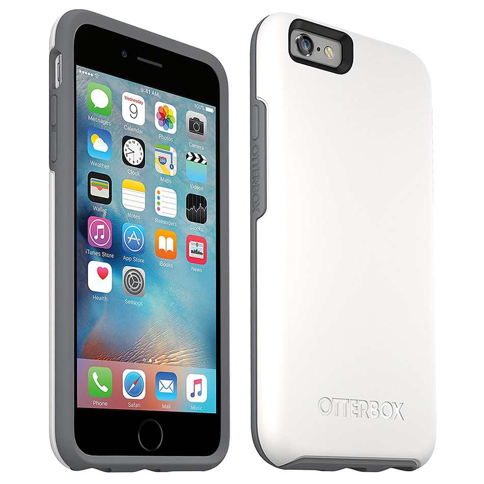 the best attitude 84efc ae7b0 Otterbox Symmetry Case for Apple iPhone 6s (White)