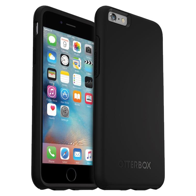 new arrival 4a679 9fd0f Otterbox Symmetry Case - Apple iPhone 6s Plus (Black)