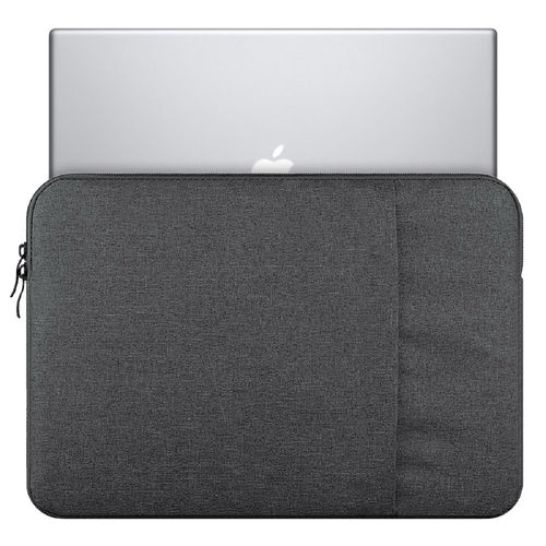 "Universal 11"" Zip Sleeve Carry Pouch Charcoal Case for MacBook Laptop"