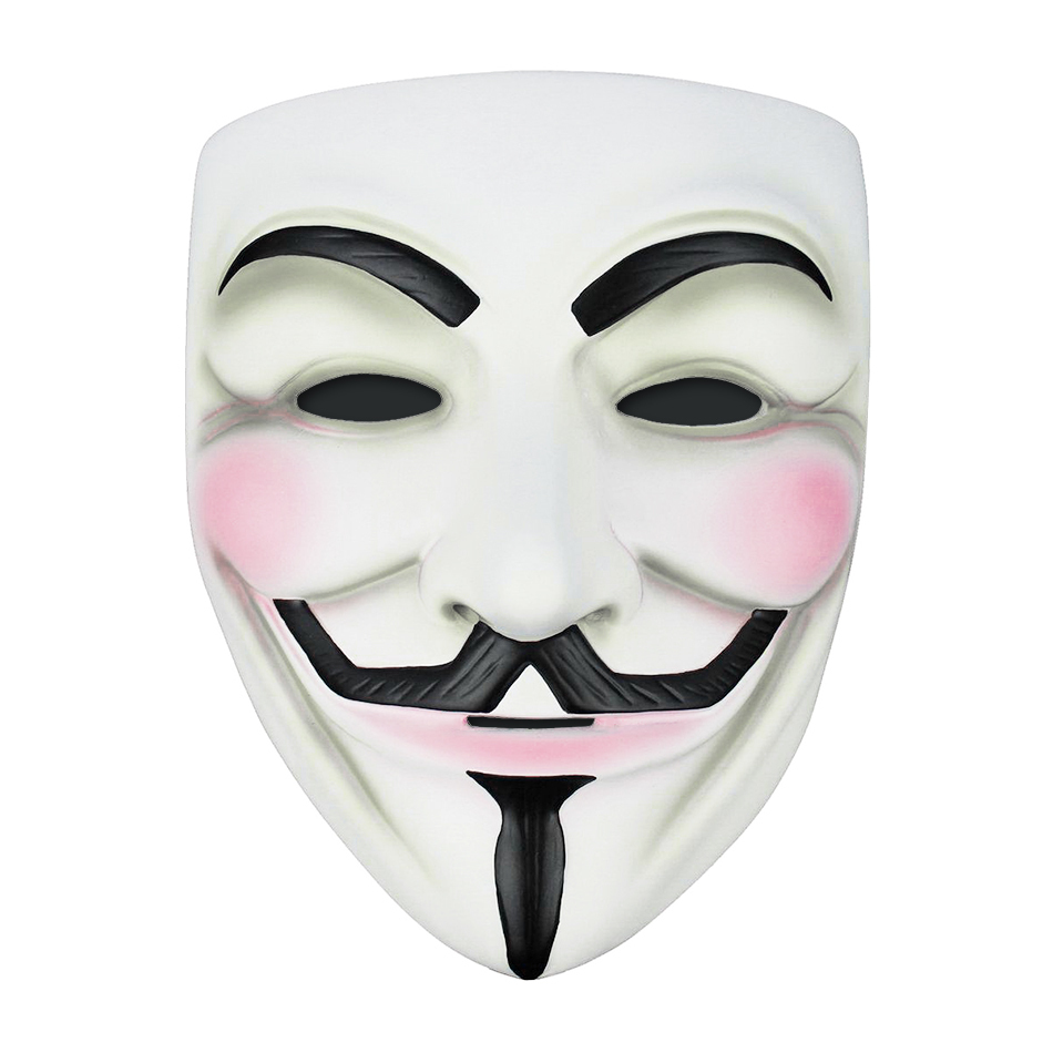 V for vendetta anonymous mask for halloween costume party - Pictures of anonymous mask ...