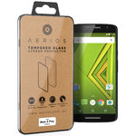 Aerios 9H Tempered Glass Screen Protector for Motorola Moto X Play