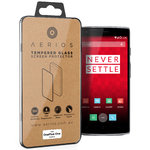 Aerios 9H Tempered Glass Screen Protector for OnePlus One - Clear