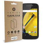 Aerios (2-Pack) Clear Film Screen Protector - Motorola Moto E 2nd Gen