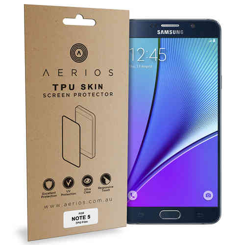 Aerios 2-Pack Curved Fit TPU Screen Protector - Samsung Galaxy Note 5