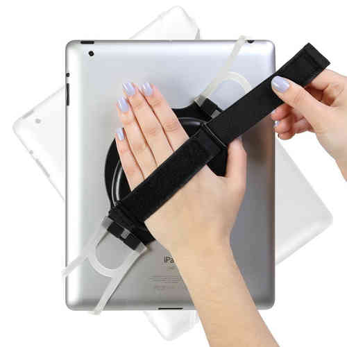 Laser Universal Handheld Holder Strap & 360 Swivel for iPad / Tablet