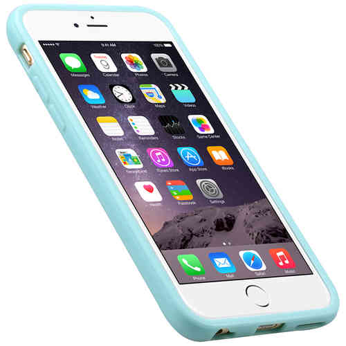 Melkco Poly Jacket TPU Case for Apple iPhone 6 / 6s - Blue
