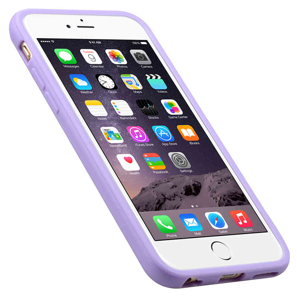outlet store 635f1 834af Melkco Poly Jacket TPU Case for Apple iPhone 6 / 6s - Purple