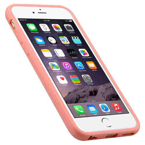 Melkco Poly Jacket TPU Case for Apple iPhone 6 / 6s - Pink