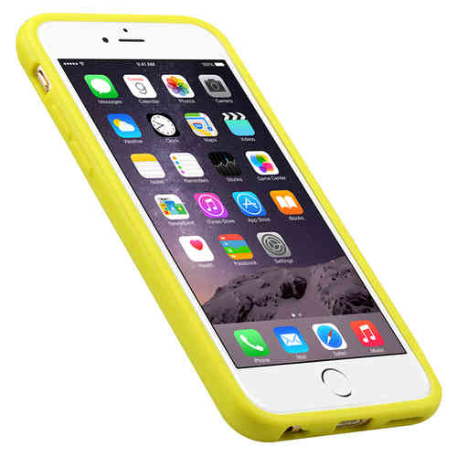 Melkco Poly Jacket TPU Case for Apple iPhone 6 / 6s - Yellow