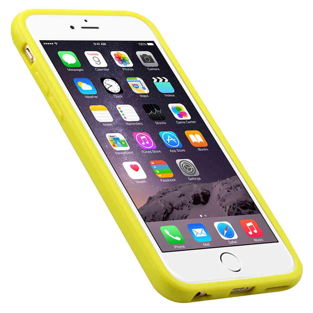 super popular f5da4 1e4ce Melkco Poly Jacket TPU Case for Apple iPhone 6 / 6s - Yellow