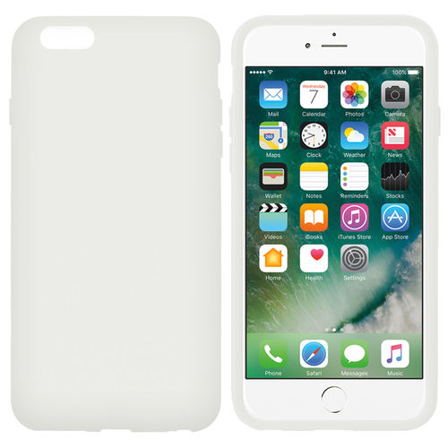 Melkco Poly Jacket Case for Apple iPhone 6 Plus / 6s Plus - White Ice