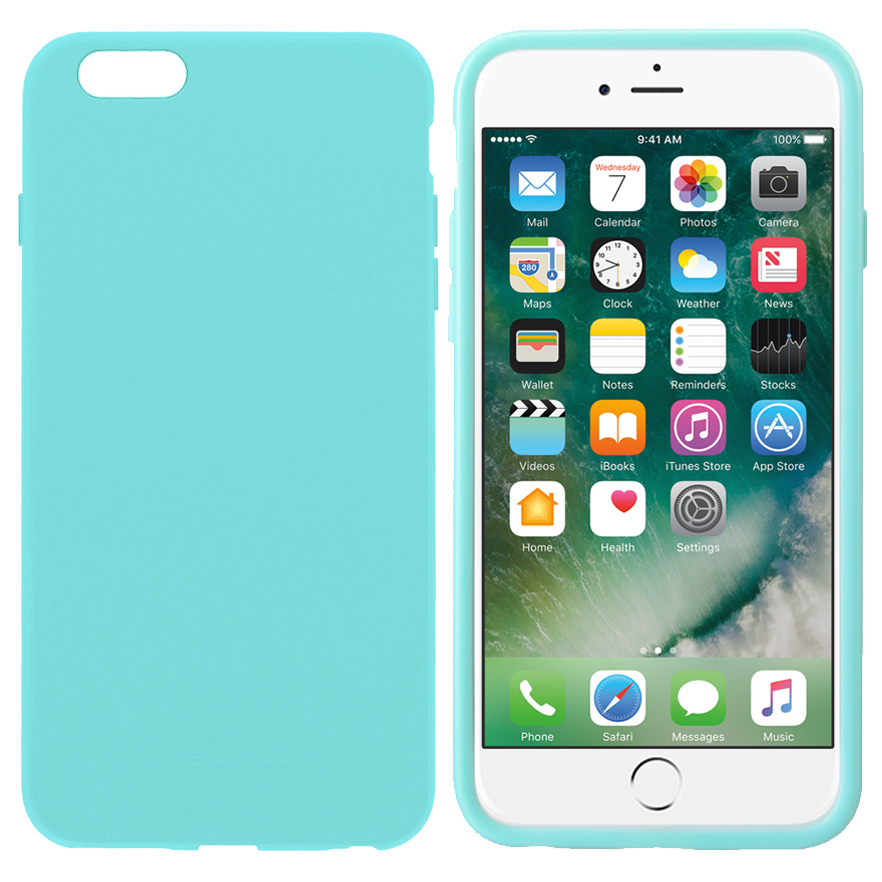 buy popular f1090 4c52a Melkco Poly Jacket Case for Apple iPhone 6 Plus / 6s Plus - Blue