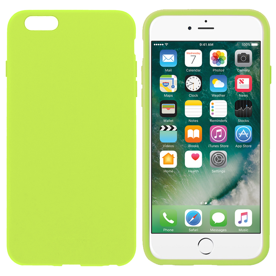 a64b6c7ddc Melkco Poly Jacket Case for Apple iPhone 6 Plus / 6s Plus - Yellow ...