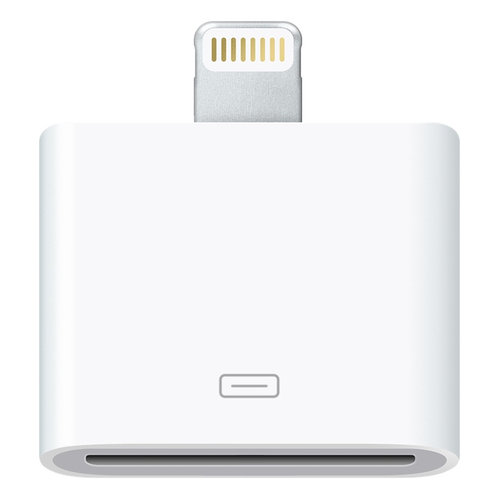 Lightning to 30-pin Audio Adapter for Apple iPhone 5 - White