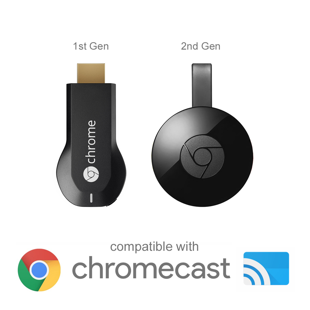 RJ45 Ethernet Adapter & USB OTG Cable - Google Chromecast