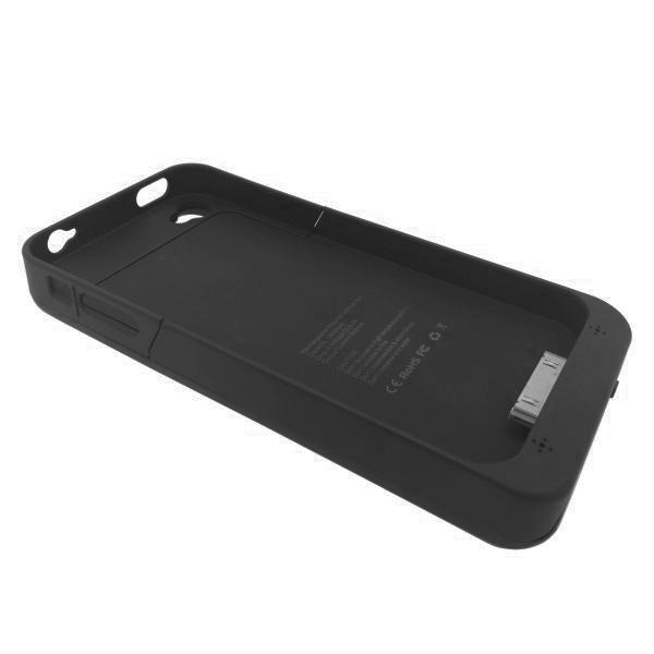 hot sale online 0aa8b 6b615 External Battery Case (1900mAh) for Apple iPhone 4s (Black)