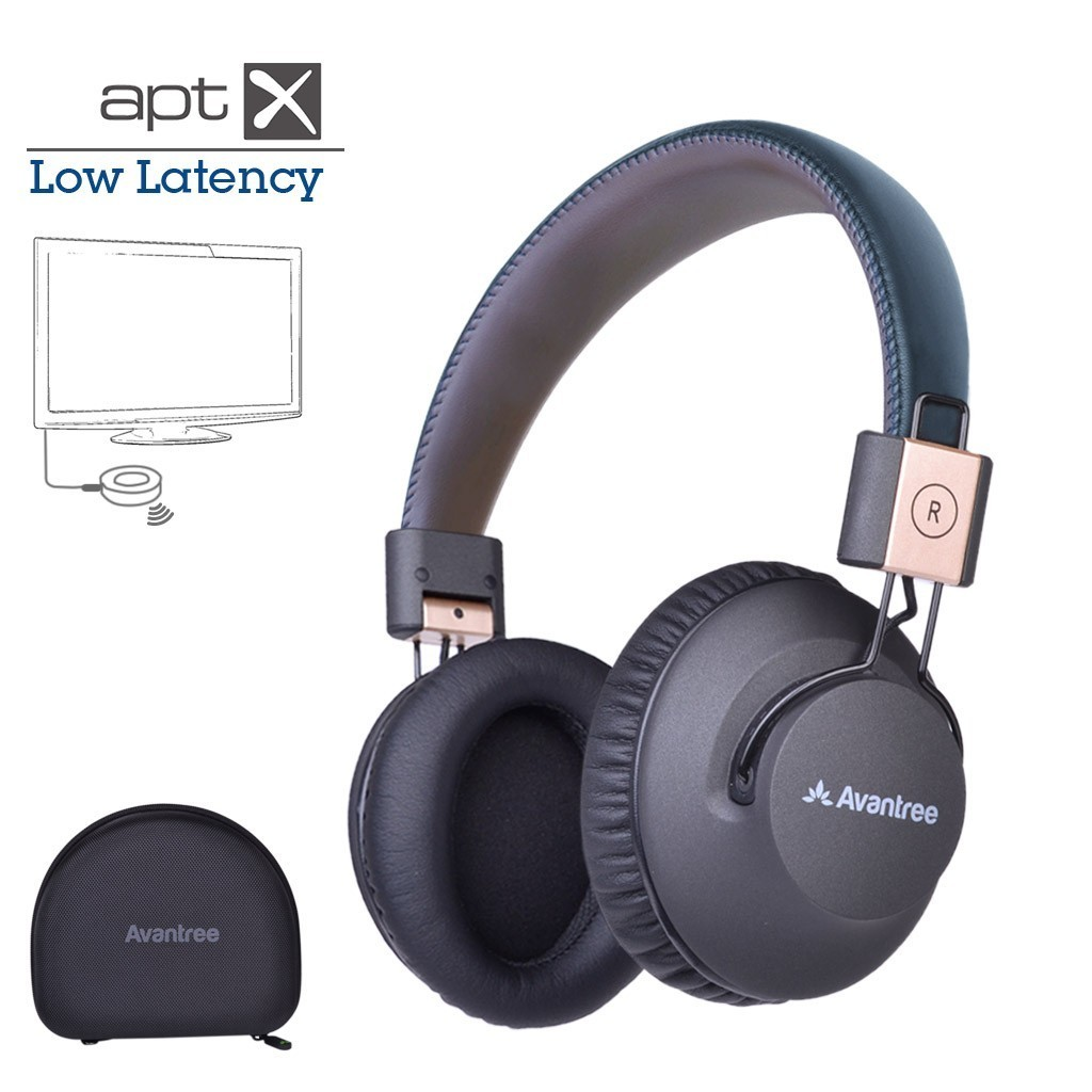 Avantree Audition Pro Low Latency Bluetooth 4.1 Headphones (aptX