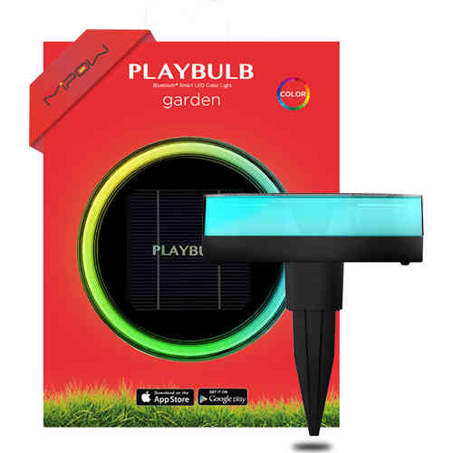 MiPow PlayBulb Bluetooth Outdoor Wireless Solar Powered Garden Light