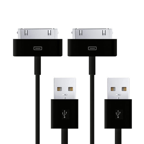 1m Samsung 30-Pin to USB Data Sync Charging Cable (2-Pack)