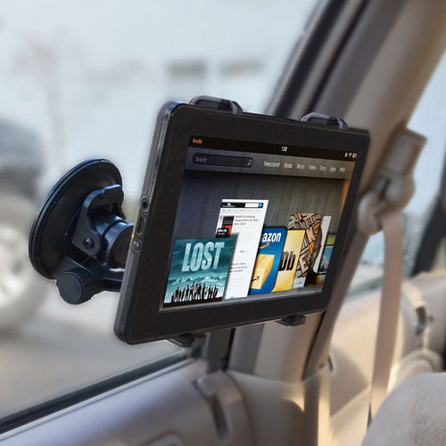Universal Car Window Suction Cup Mount & Holder for Tablets / iPad