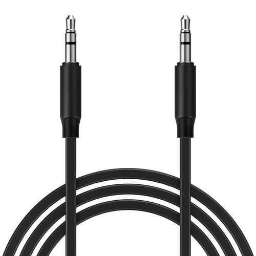 1m Stereo 3.5mm Auxiliary Audio Cable (Male) with Headphone Jack