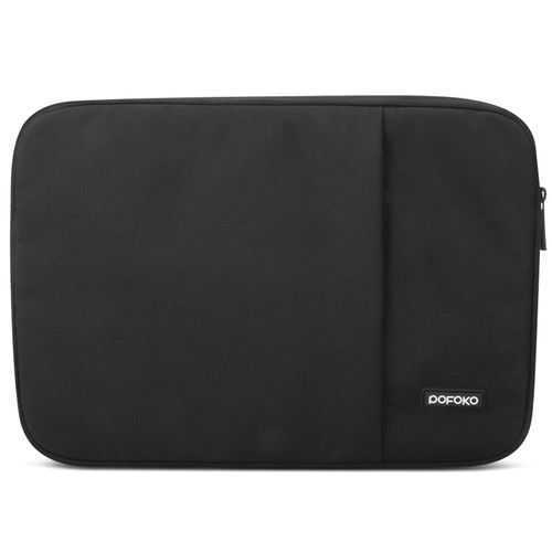 Pofoko 15-inch Zip Sleeve Case Travel Pouch for Apple MacBook / Laptop