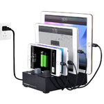 Avantree 8A PowerHouse Plus (4-Port) Desktop USB Fast Charging Station
