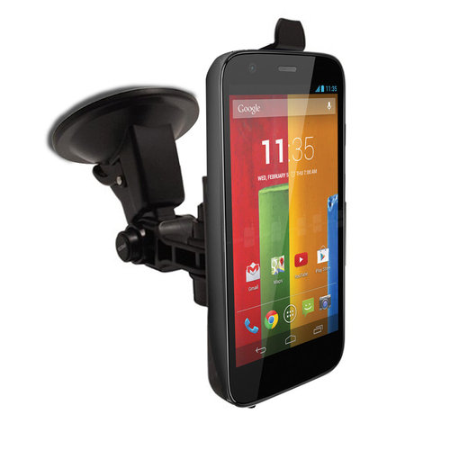 Suction Cup Car Mount Holder for Motorola Moto G (1st Gen)