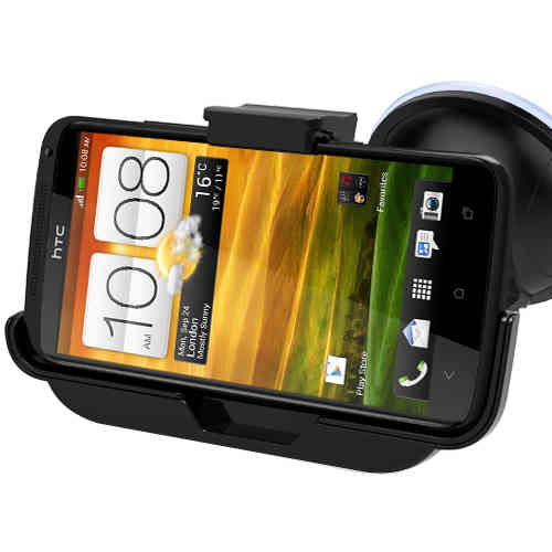 Kidigi Car Mount Holder Cradle with Charger for HTC One X / XL / X+