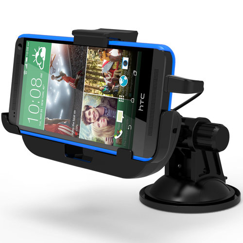 Kidigi Car Mount Suction Cup Charging Cradle Dock for HTC One M8