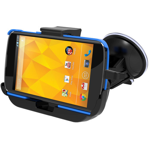 Kidigi Car Mount Suction Cup Charging Cradle Dock for Google Nexus 4