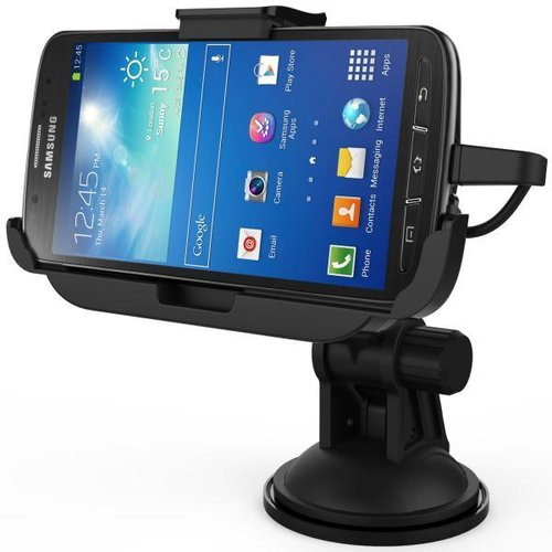 Kidigi Car Mount Dock with Charger for Samsung Galaxy S4 Active