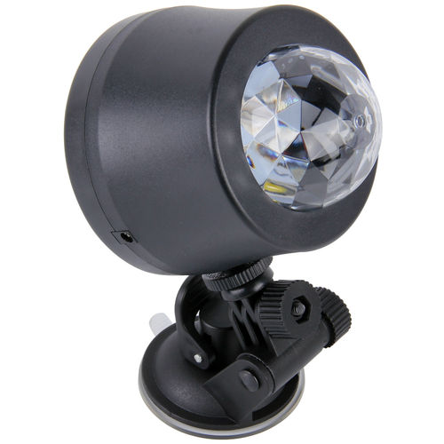 Colour LED Disco Party Light Mount with Sound Activated Strobe Strobe