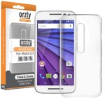 Orzly Invisi Crystal Hard Case for Motorola Moto G (3rd Gen) - Clear
