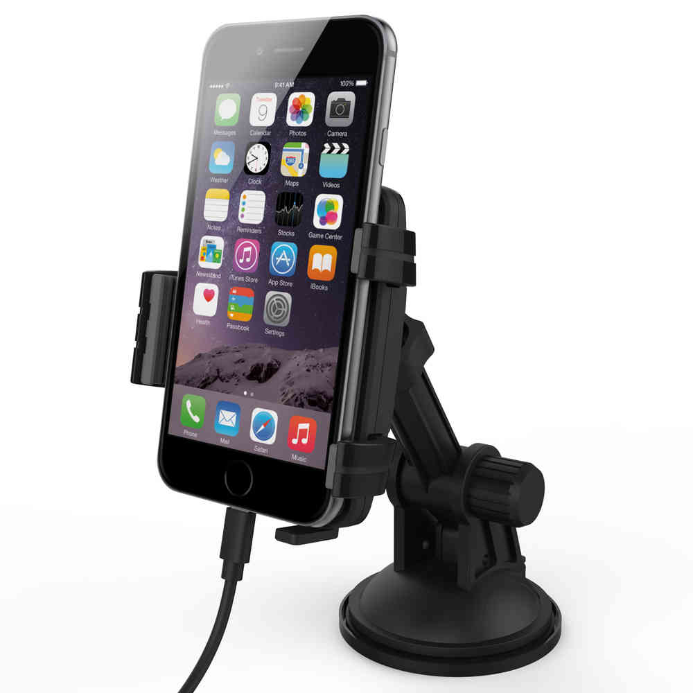 Kidigi Car Mount Cradle Charger For Apple IPhone S S Plus - Audi iphone 6 car cradle