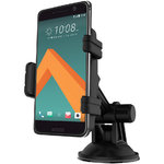 Kidigi Car Mount Holder & USB-C (Type-C) Cable Charger for HTC 10