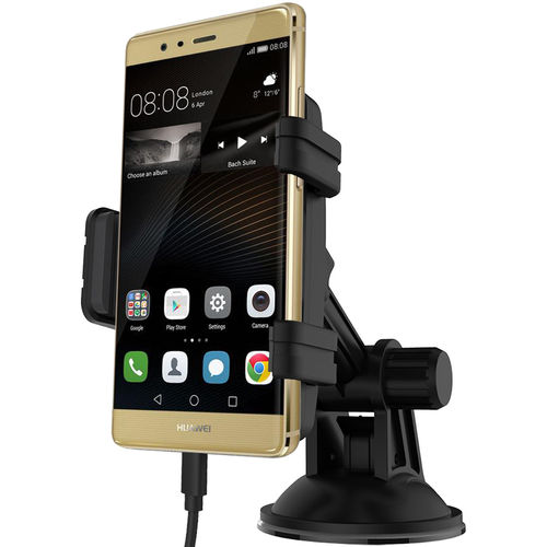 Kidigi Car Mount Holder & USB-C (Type-C) Cable Charger for Huawei P9