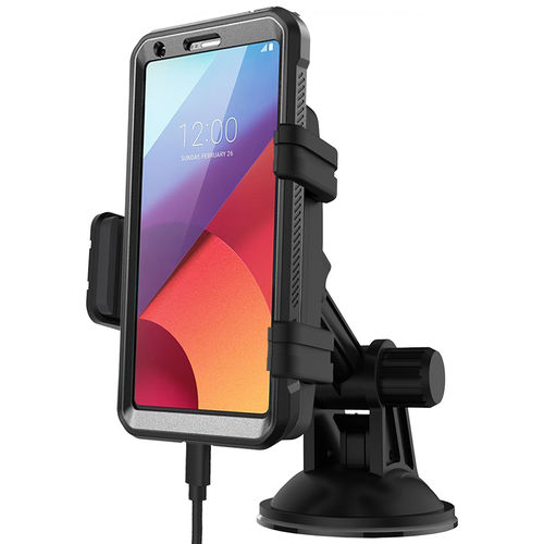 Kidigi Car Mount Holder & USB-C (Type-C) Cable Charger for LG G6