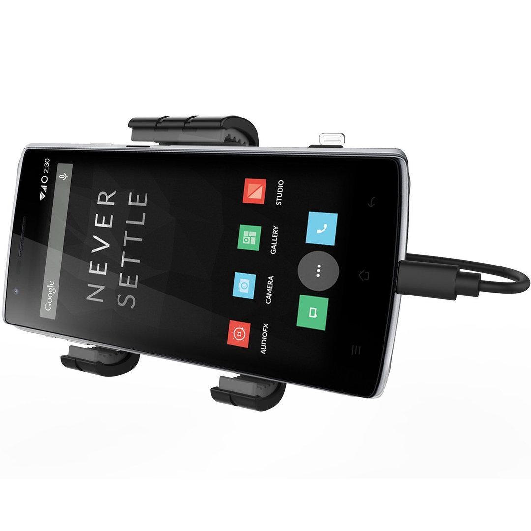 kidigi car mount holder usb type c cable for mobile phone. Black Bedroom Furniture Sets. Home Design Ideas